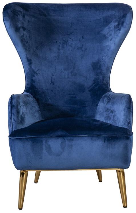 Home4you Armchair Indigo Blue 38049