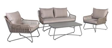 Home4you Garden Furniture Set Grey