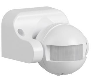 Kustības sensors 180° 1100w ip44 balts