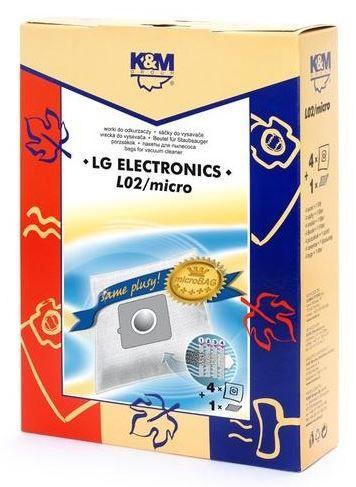 K&M Group Vacuum Cleaner Bags 4pcs + Microfilter