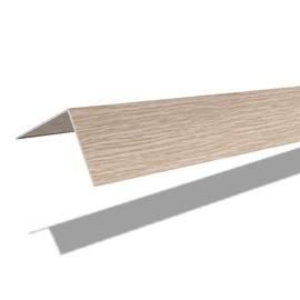PVC līste 25x25x2700, balts ozols