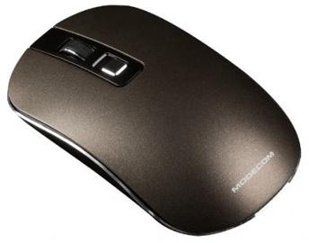 Kompiuterio pelė Modecom WM101 Brown, bevielė, optinė