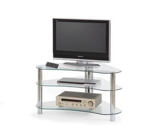 Televizoriaus staliukas RTV-13 skaidrus, 95 x 60 x 51 cm