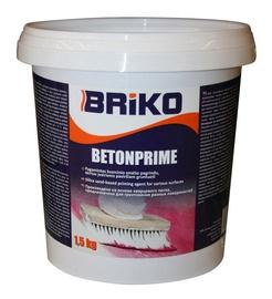 Neįgeriančių paviršių gruntas Briko Betonprime, 1,5 kg