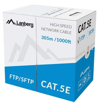 Lanberg Cable CAT 5e FTP Grey 305m
