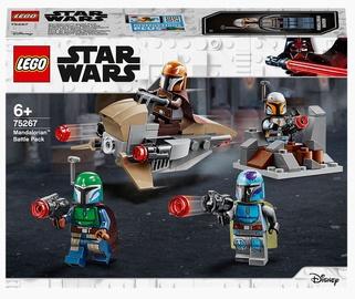 Конструктор LEGO Star Wars Боевой набор: мандалорцы 75267, 102 шт.