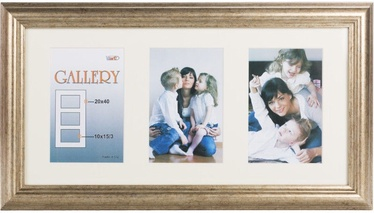 Victoria Collection Photo Frame Ema Gallery 20x40 3x 10x15 Bronze