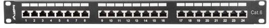 Lanberg PPS6-1024-B 24 Port Panel