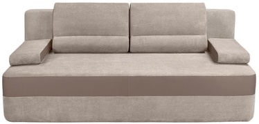 Sofa-lova Black Red White Juno III LUX 3DL Beige, 208 x 106 x 89 cm