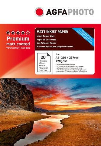 Fotopaber AgfaPhoto Premium Double Matt A4 20pcs