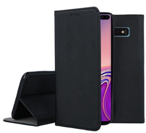 Mocco Smart Magnet Book Case For Samsung Galaxy S10 Plus Black
