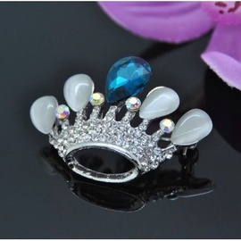 Vincento Brooch With Zirconium Crystal LD-1344