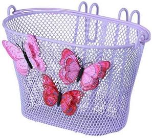 Basil Jasmine & Butterfly Junior Front Basket Purple