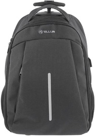 Tellur Trolley Rolly Notebook Backpack 15.6'' Black