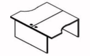 Skyland Xten X2CET 149.3 Double Desk 140x180cm Tiara Beech