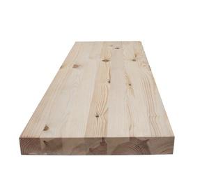 Laiptų pakopa, uosinė, 4 x 30 x 95 cm