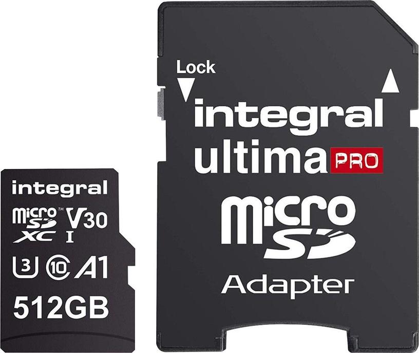 Integral Ultima Pro Premium microSDXC V30 UHS-I U3 512GB