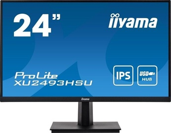 Монитор Iiyama PROLITE XU2493HSU-B1, 24″, 4 ms