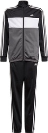Adidas Essentials Tiberio Track Suit GN3970 Grey/Black 140cm