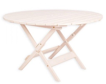 Folkland Timber Folding Table Canada White