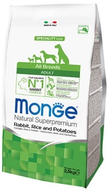 Monge Speciality Line Adult with Rabbit Rice and Potatoes 12kg