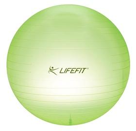 Gimnastikos kamuolys LIFEFIT 75 cm žalia