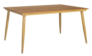 Home4you Greenwood Garden Table 160x91x73.5cm Caramel