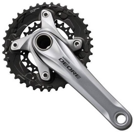 Shimano M615 Deore 38x24T 175mm Silver