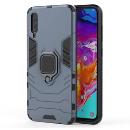 Hurtel Ring Armor Back Case For Xiaomi Mi CC9e/Mi A3 Blue