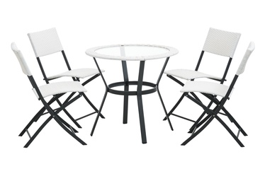 4living Lisa Garden Furniture Set White
