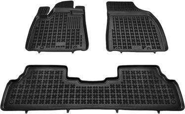 Резиновый автомобильный коврик REZAW-PLAST Lexus RX III (AL10) Facelift 2012-2015, 3 шт.