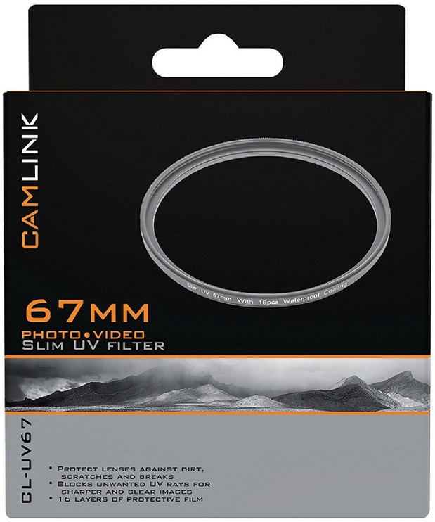 CamLink Slim UV Filter 67mm