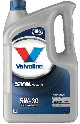 Valvoline SynPower FE 5w30 Engine Oil 5L