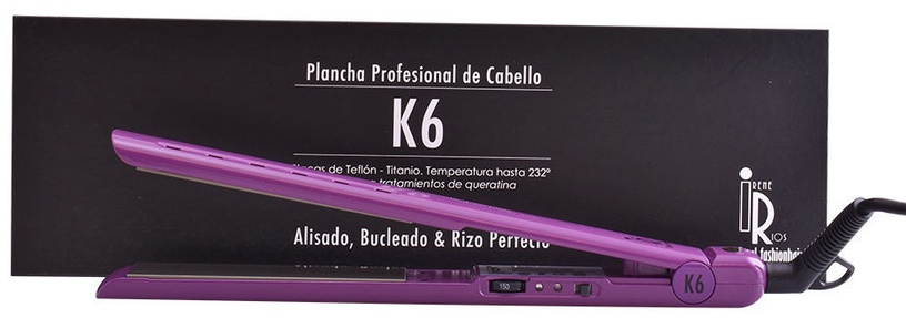 Plaukų tiesintuvas Irene Rios K6