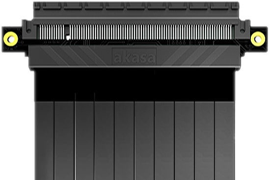 Akasa Riser Black XL 1m