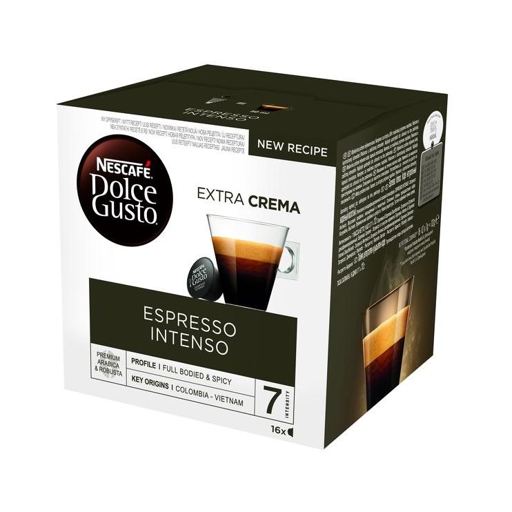 Kavos kapsulės NESCAFÉ® Dolce Gusto® Espresso Intenso, 16 vnt., 128 g