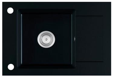Halmar Sink Stema Black Matt