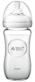 Philips Avent Natural Glass Bottle 240ml SCF 053/17