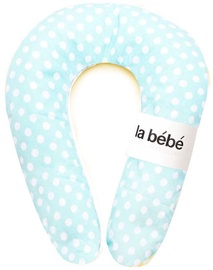 La Bebe Nursing Maternity Pillow Snug 20x70cm Mint Dots 85708