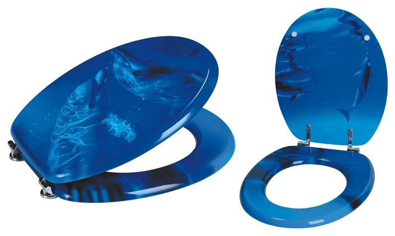 Tualetes poda vāks Futura 46x37cm, zils