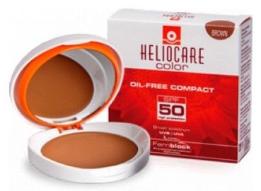 Heliocare Color Oil Free Compact SPF50 10g Brown