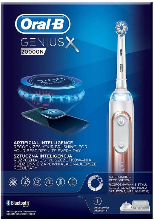 Braun Oral-B Genius X 20000N UltraThin Rose Gold