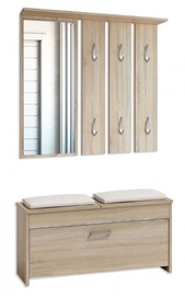 Top E Shop Roma Hall Unit Set Sonoma Oak