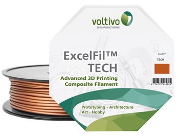 Voltivo PLA+Metal Filament Cartridge 2.85mm Cooper