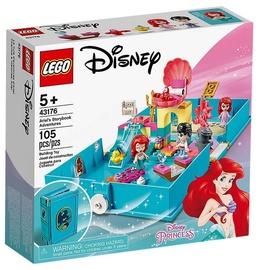 Konstruktorius LEGO®Disney Princess 43176 Arielės nuotykių knygelė