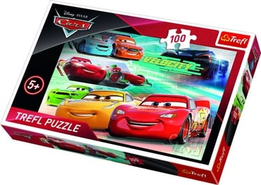 Пазл Trefl Cars Race Heroes 16337, 100 шт.