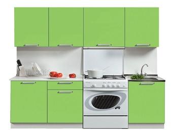MN Kitchen Unit Simpl 2.1m Light Green