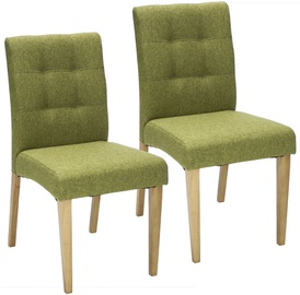 Home4you Chairs Enrich 2 pcs Green