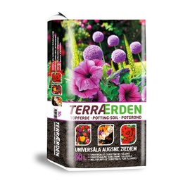Universalus substratas gėlėms Terraerden, 50 l