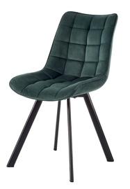 Ēdamistabas krēsls Halmar K332 Dark Green